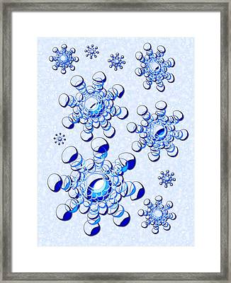 Winter Thoughts Framed Print by Anastasiya Malakhova