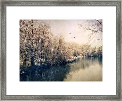 Winter Tones Framed Print by Jessica Jenney