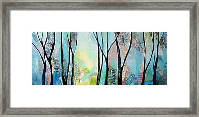 Winter Wanderings I Framed Print by Shadia Zayed