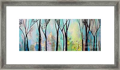 Winter Wanderings II Framed Print by Shadia Zayed