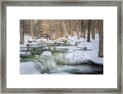 Winter Water Framed Print by Bill Wakeley