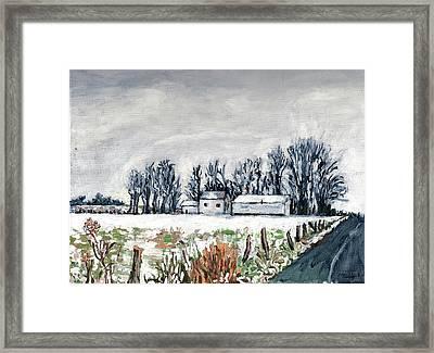 Winter Whisper Framed Print by Patty Fleckenstein