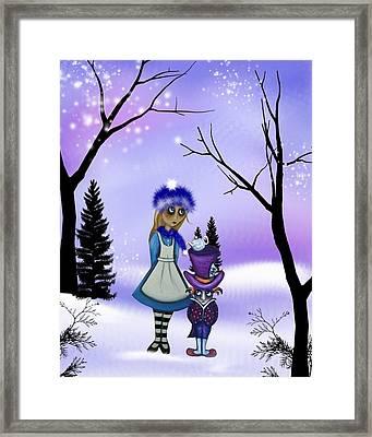 Winter Wonderland Framed Print by Charlene Murray Zatloukal