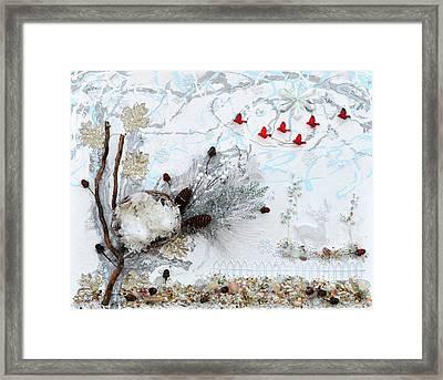 Winter Wonderland Framed Print by Donna Blackhall