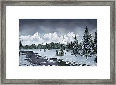 Winter Wonderland Framed Print by Rick Bainbridge