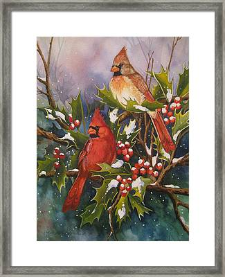 Winter Wonders Framed Print by Cheryl Borchert