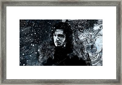 Winter's Coming Framed Print by The DigArtisT