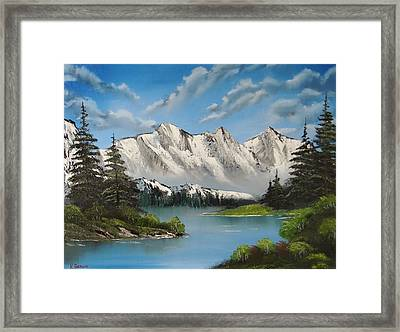 Winter's End Framed Print by Kevin  Brown
