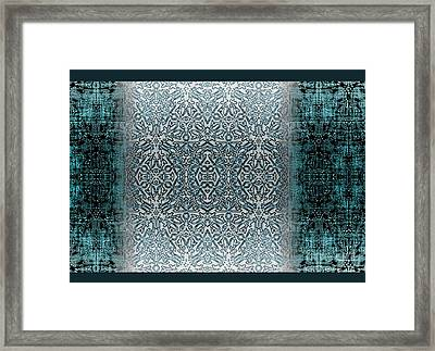 Winters Past And Present Framed Print by CR Leyland