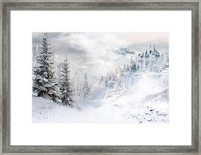 Winters Tale Framed Print by Shanina Conway