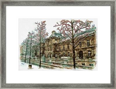 Wintertime Sadness Framed Print by Ayse Deniz