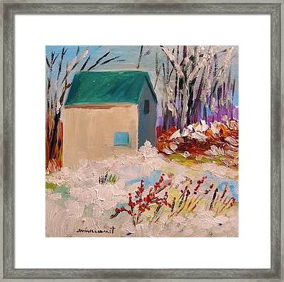 Wintry Framed Print by John Williams