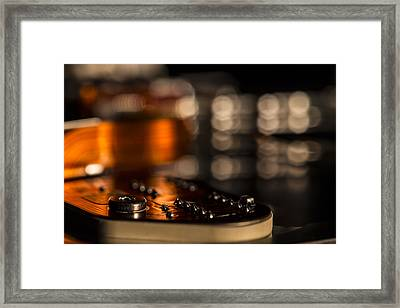 Wired Framed Print by Andrew Pacheco