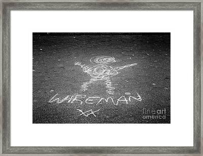 Wireman Framed Print by John Farnan