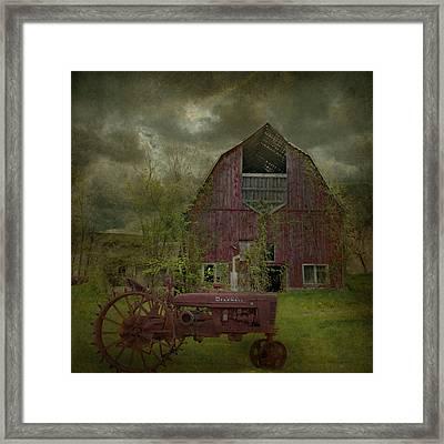 Wisconsin Barn 3 Framed Print by Jeff Burgess