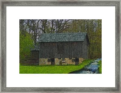 Wisconsin Rustic 2 Framed Print by Jack Zulli
