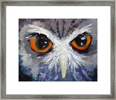 Wisdom Framed Print by Nancy Merkle