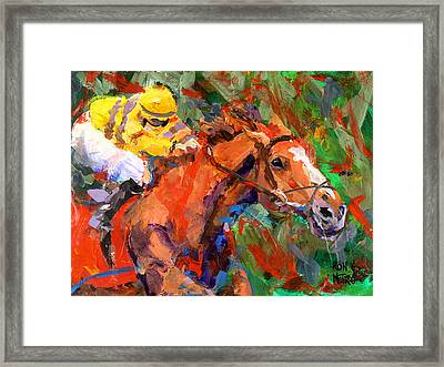 Wise Dan Framed Print by Ron and Metro