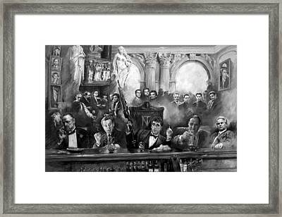 Wise Guys Framed Print by Ylli Haruni