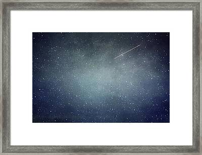 Wish Upon A Star Framed Print by Violet Gray