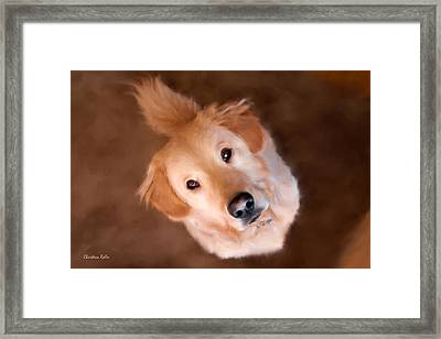 Wishful Thinking Framed Print by Christina Rollo