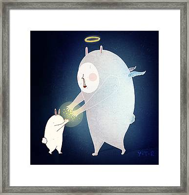 Wishing On The Stars Framed Print by Yoyo Zhao