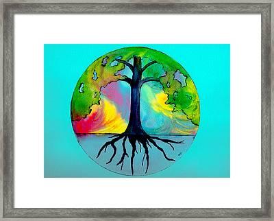Wishing Tree Framed Print by Brenda Owen