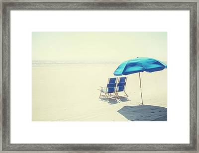 Wishing You Were Here Framed Print by Amy Tyler
