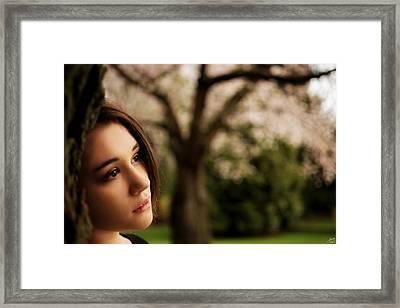 Wistfully Dreaming Of You Framed Print by Lisa Knechtel