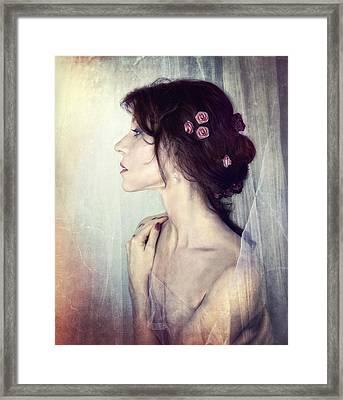 Wistfully... Framed Print by Spokenin RED