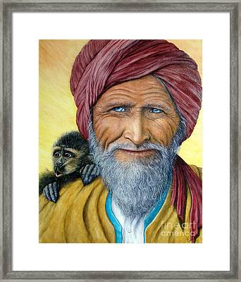 Wit And Wisdom Framed Print by Joey Nash