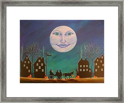 Witch Moon Framed Print by Christine Altmann