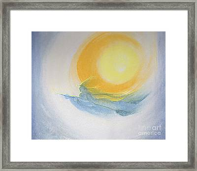 Witch Moon Flight By Jrr  Framed Print by First Star Art