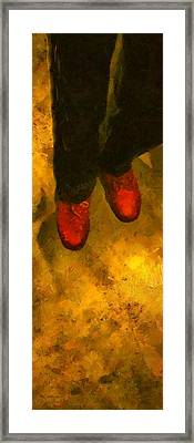 Witch Walking Framed Print by RC DeWinter