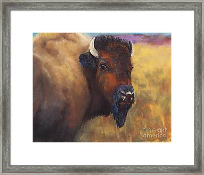 With Age Comes Beauty Framed Print by Frances Marino