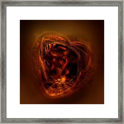 Within My Heart Framed Print by Li   van Saathoff