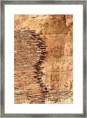 Withstanding Framed Print by Elizabeth Sullivan