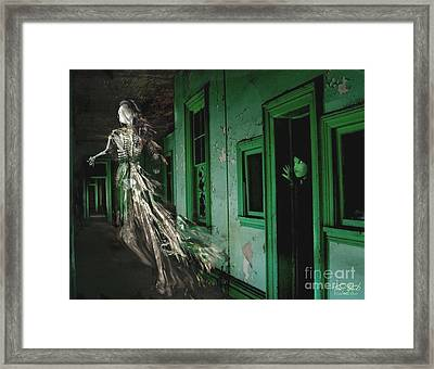 Witness Framed Print by Tom Straub