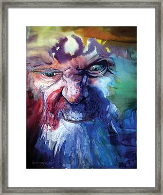 Wizzlewump Framed Print by Frank Robert Dixon
