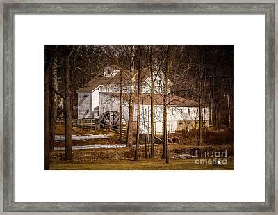Wolcott Mill Framed Print by Grace Grogan