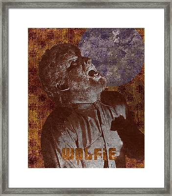 Wolfman Wolfie Framed Print by MMG Archives