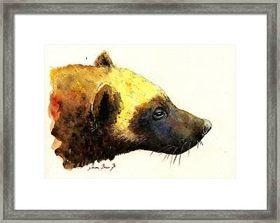 Wolverine Framed Print by Juan  Bosco