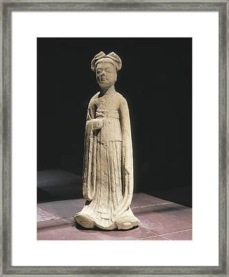 Woman Figure. 581 - 618. Servant Framed Print by Everett