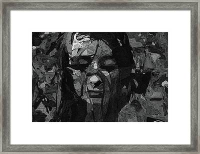 Woman In Serenity Framed Print by Ayse Deniz