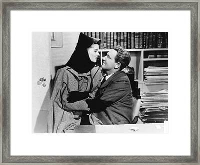 Woman Of The Year, From Left, Katharine Framed Print by Everett