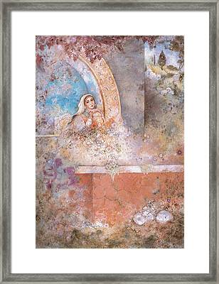Woman Of Valor Framed Print by Michoel Muchnik
