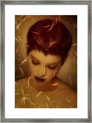 Woman Portrait Framed Print by Gun Legler