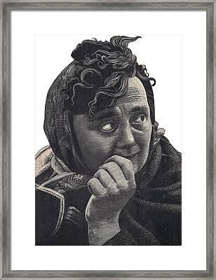 Woman Framed Print by Tulsidas Tilwe