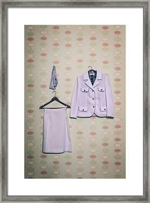 Woman's Clothes Framed Print by Joana Kruse