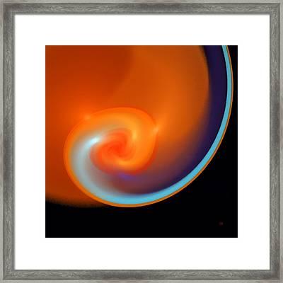 Womb Framed Print by Menega Sabidussi